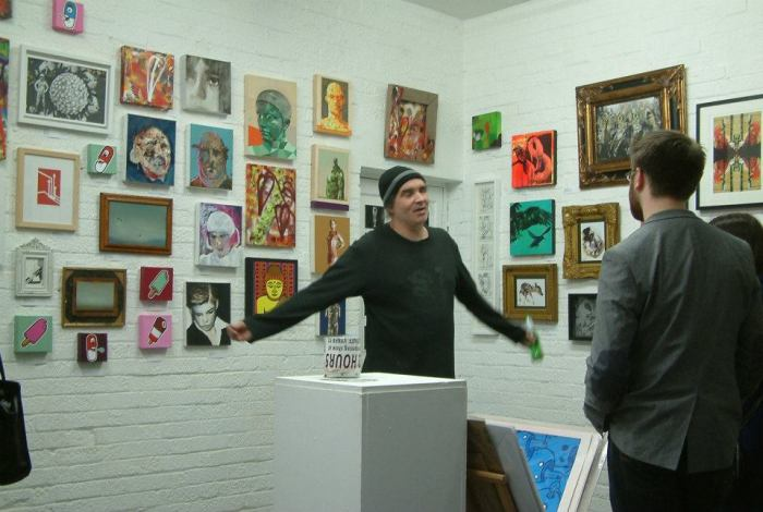 SEAN IN GALLERY