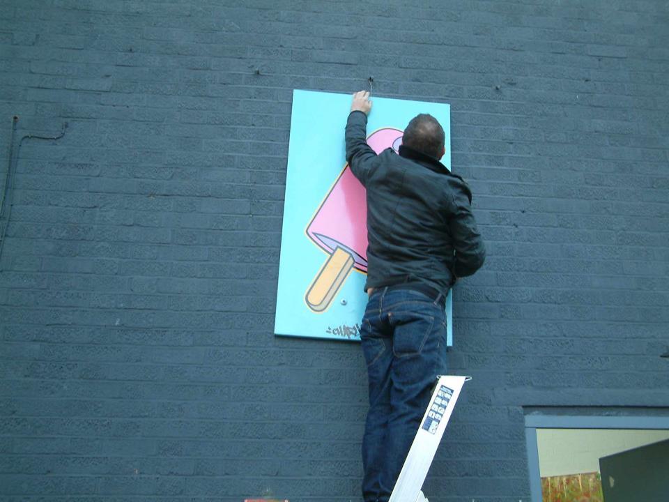 FREE ART THURSDAY, NOVEMBER 17th 2011... CULTIVATE VYNER STREET...