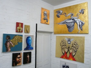 A taster of TEN with the art of DEBORAH GRIFFIN and GARETH MORGAN