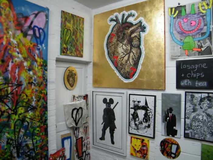 DEBORAH GRIFFIN's heart. sold on the opening might