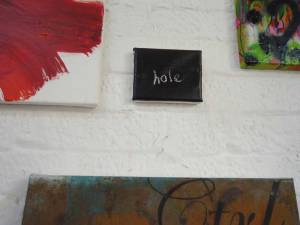 "JULIA MADDISON - ""HOLE"""