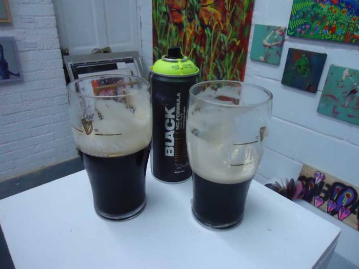 Will paint for Guinness