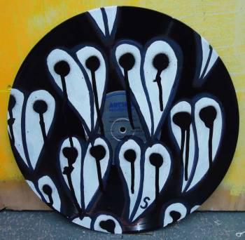 SEAN WORRALL - PAINTED VINYL - yours for as little as 1p for this weekend only