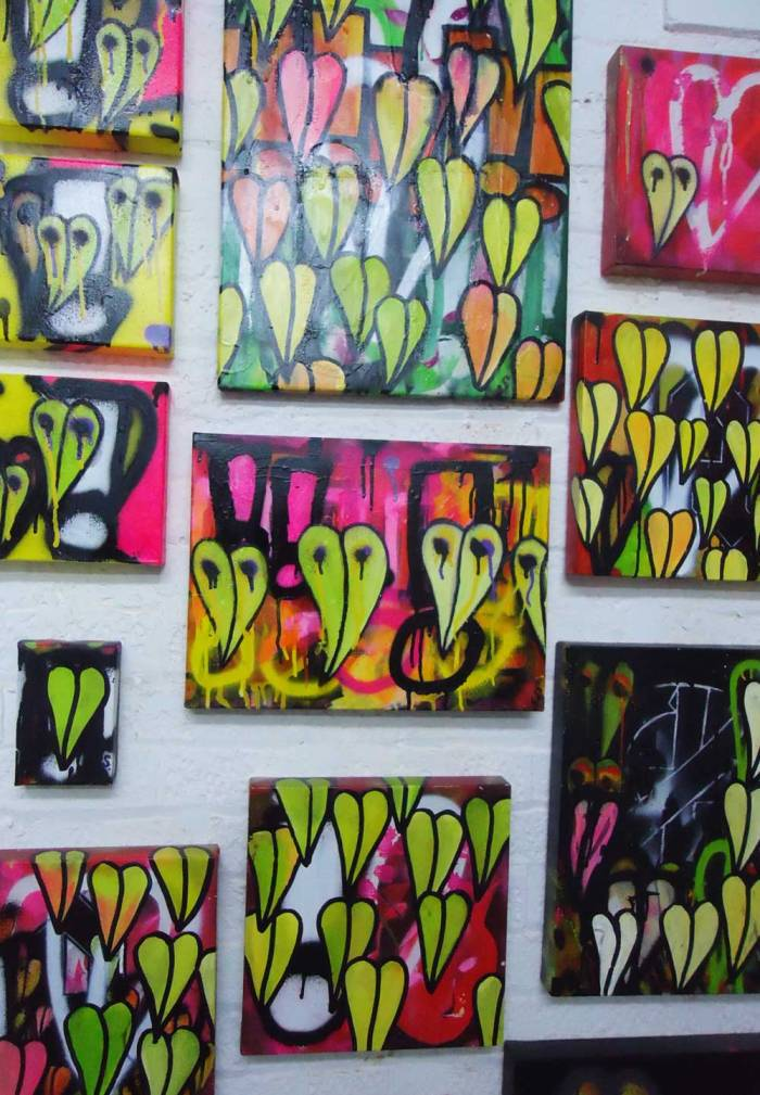 SEAN WORRALL - New layers, new leaves, new growth, new work, Jan 2013