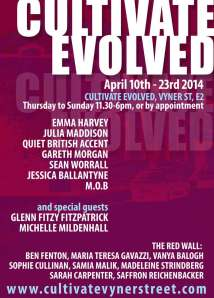 CULTIVATE EVOLVED April 2014