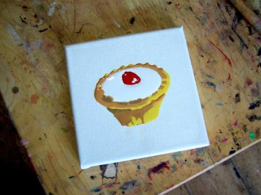 Emma Harvey's art tarts