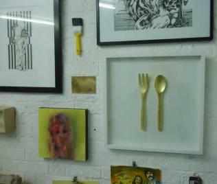 Amy Dignam's kitchen utensils...