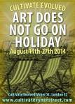 Art Does Not Go On Holiday